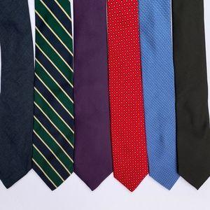 Lot of Men's Ties (6)